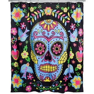 NEW Day of the Dead Darling Shower Curtain